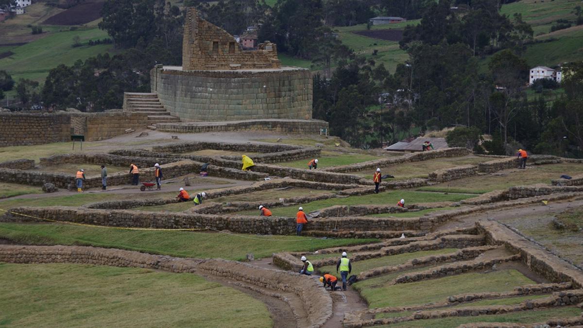 Ingapirca ruiner Ecuador / (c) Pia Adamsen