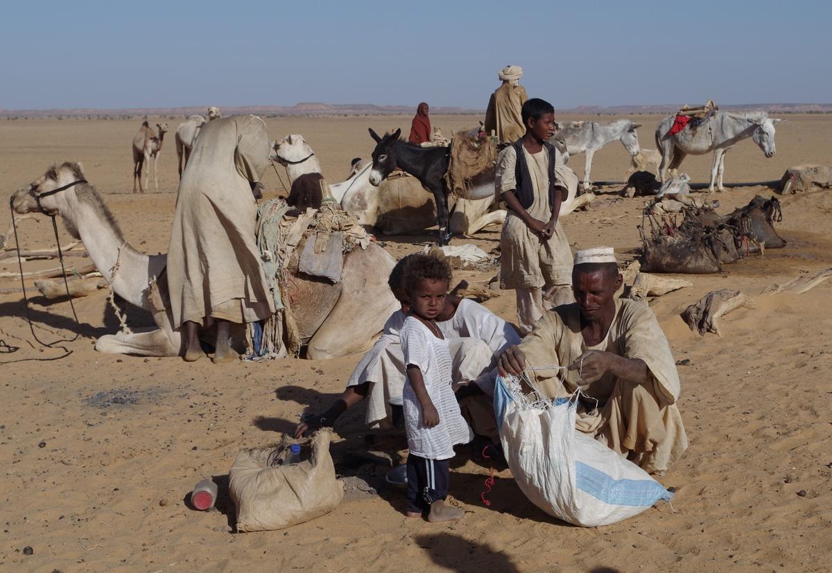 Klanfamilie Sudan / (c) Pia Adamsen